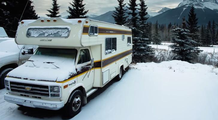 RV in Alberta Canada