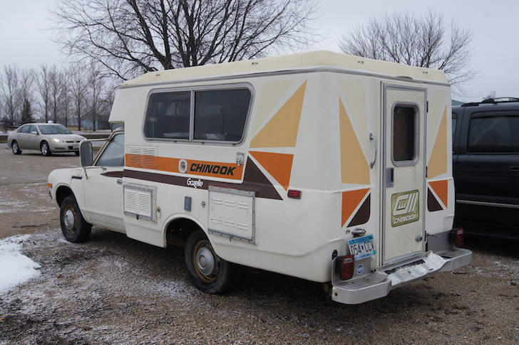 Wow It 39 S A 1977 Datsun Chinook Gazelle Truck Camper