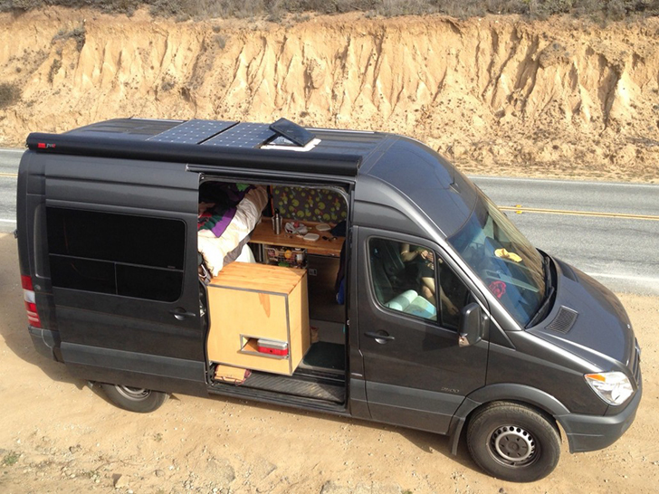 DIY Converted Mercedes Sprinter Van