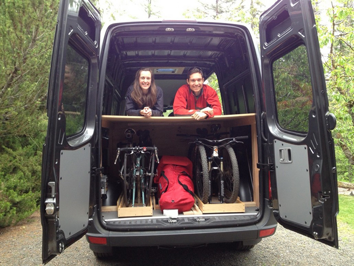 Sprinter Van Bunk Beds >> DIY Converted Mercedes Sprinter Van - Do It Yourself RV