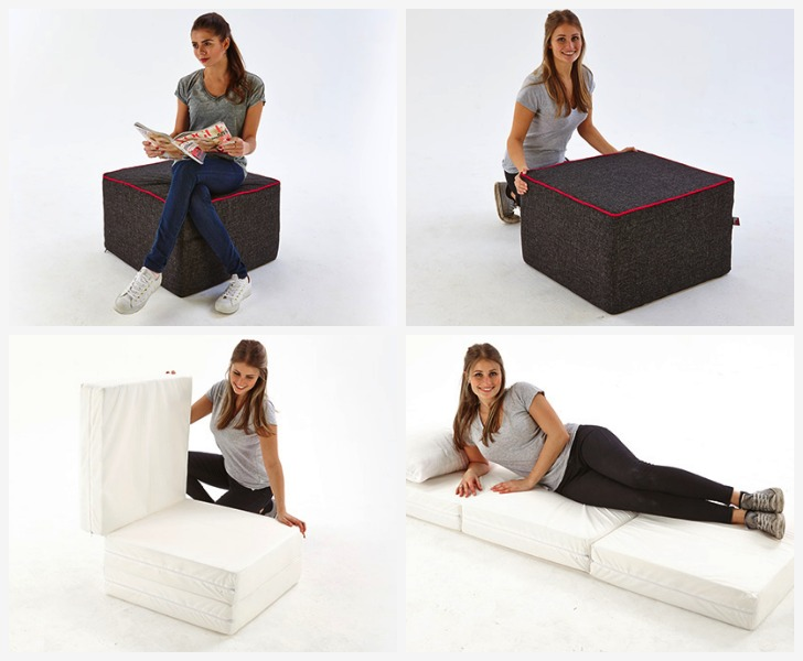 Stool bed