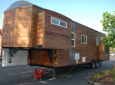 Tiny House With Slide Outs Built On A Gooseneck Trailer