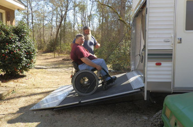 Adaptive Toy Hauler Ramp