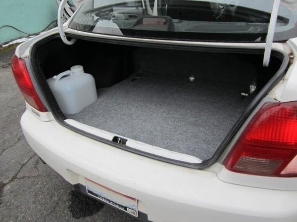 Trunk area in mini RV