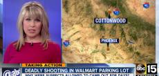 Walmart parking lot shooting