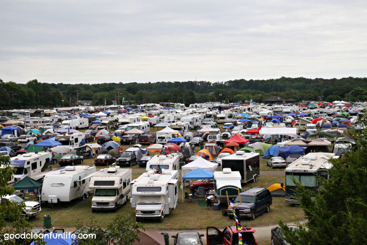 music festivals with RV camping