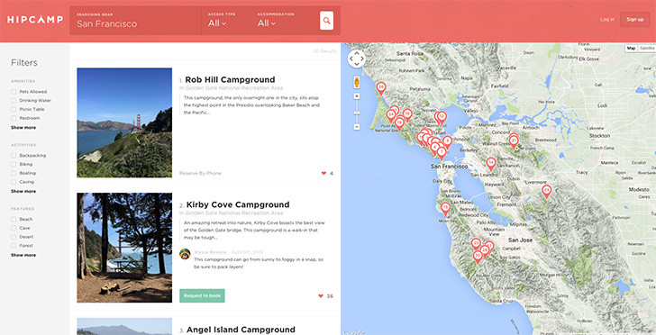 Hipcamp and Caliparks Feature California Campgrounds and Activities
