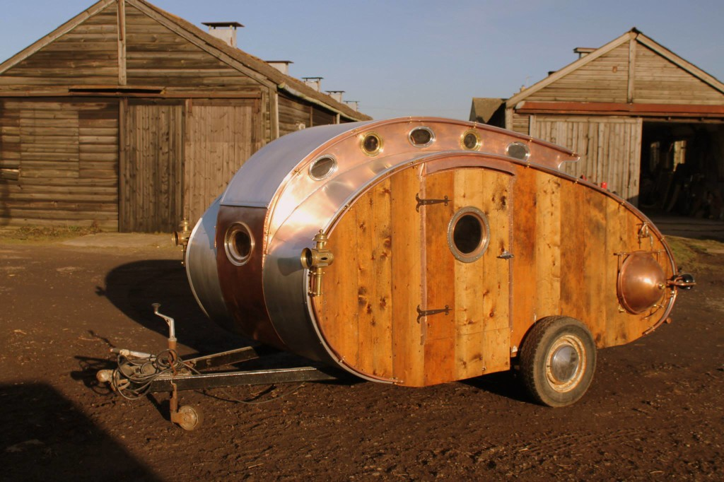 Steampunk teardrop trailer diyrv