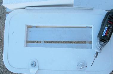 ventilated RV cabinet doors