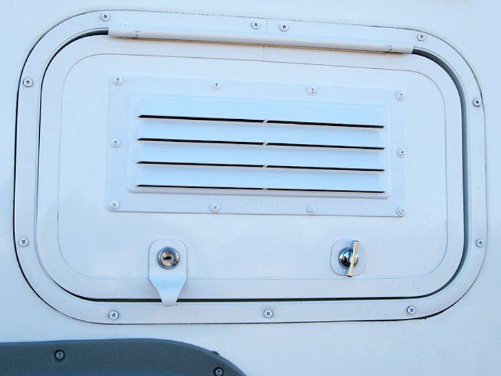 ventilated RV cabinet doors
