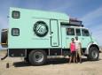 Family Fun in a Mercedes Fire Truck Overland RV
