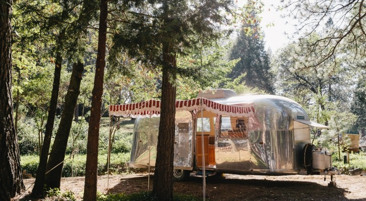 Vintage Airstream Office