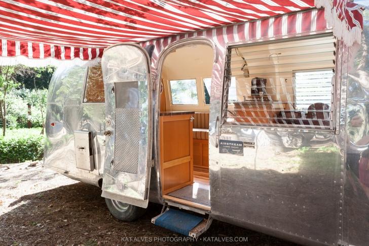 Vintage Airstream awning