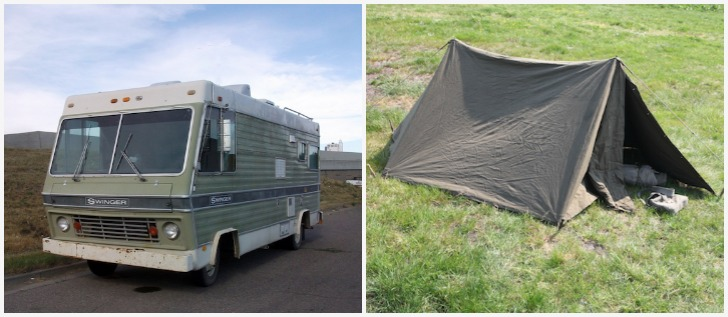Slide In Pickup Camper Ultimate Survival Bugout Shelter