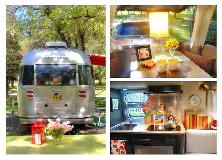 Small Small Trailer Airstream Bambi - Do It Yourself RV