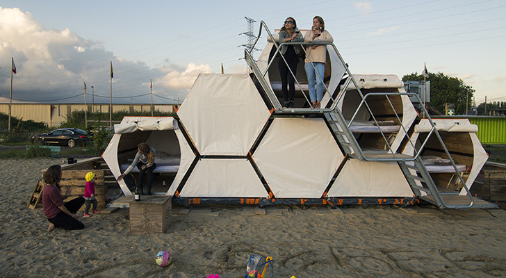 Move Aside Tent! Stay in a Beehive During your Next Music Festival