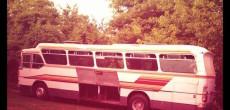 Blue Bus Journey before renovation