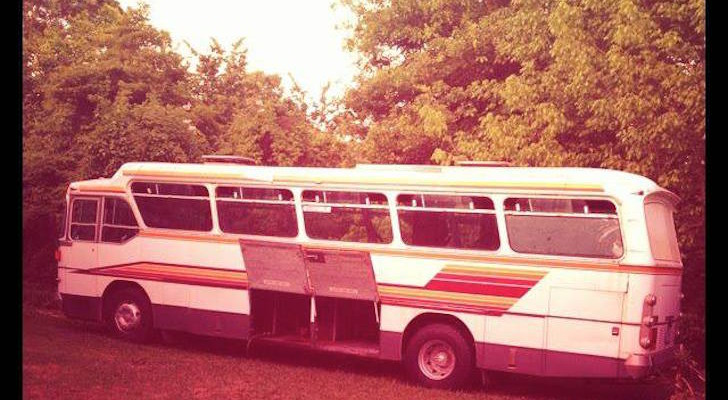 A Young Australian Couple Tackled This Bus Renovation To Raise Kids On The Road