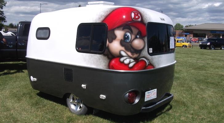 Boler travel trailer