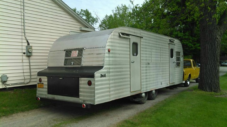 Restored Yellowstone Park Model Camper