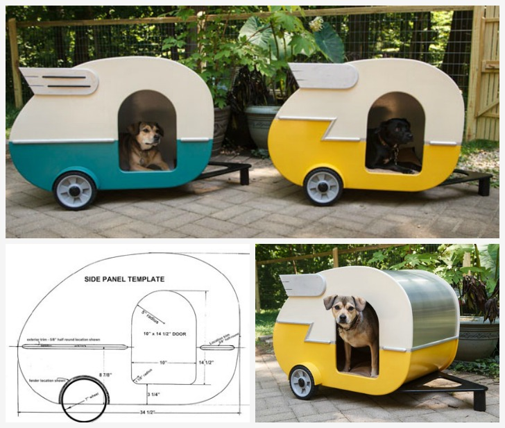 Camper dog house