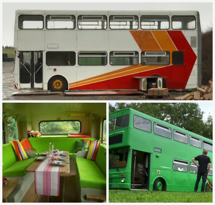 Double decker bus RV masterpiece