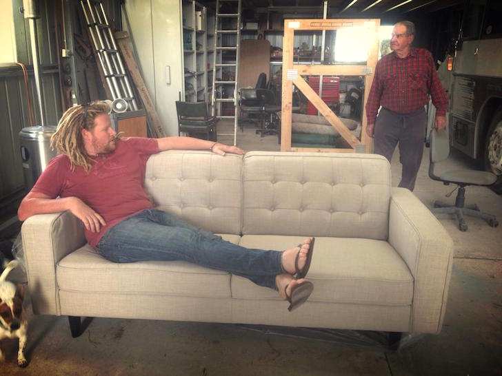 Finding the perfect couch