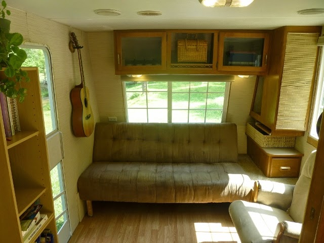 Fleetwood tiny house living area