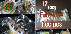 Foil packet recipes