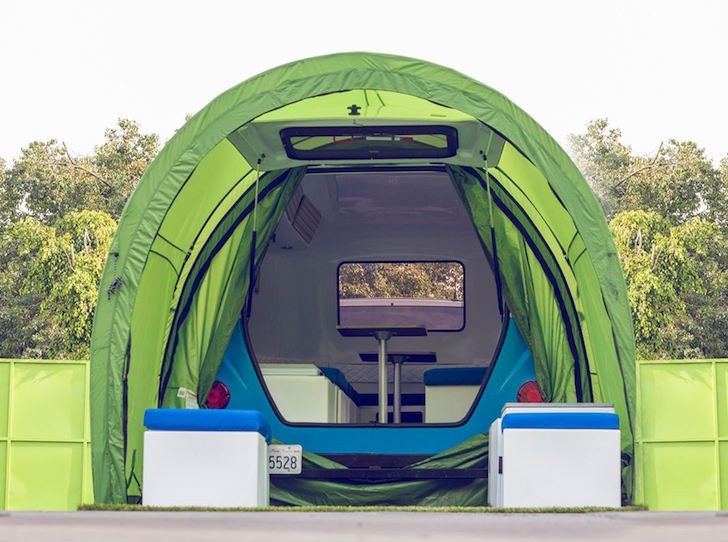 Happier Camper Hc1 Ultra Light Fiberglass Camper Prototype