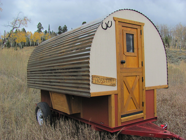 Sheep Wagon for Classic Western Camping Do It Yourself RV