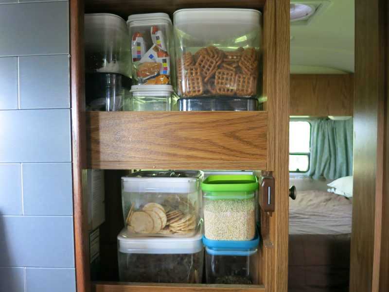 Less Cluttered and More Organized RV