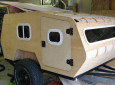 Do Your Back Country Camping in Relative Comfort With This DIY Off Road Teardrop Camper