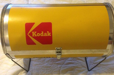 Kodak grill in yellow