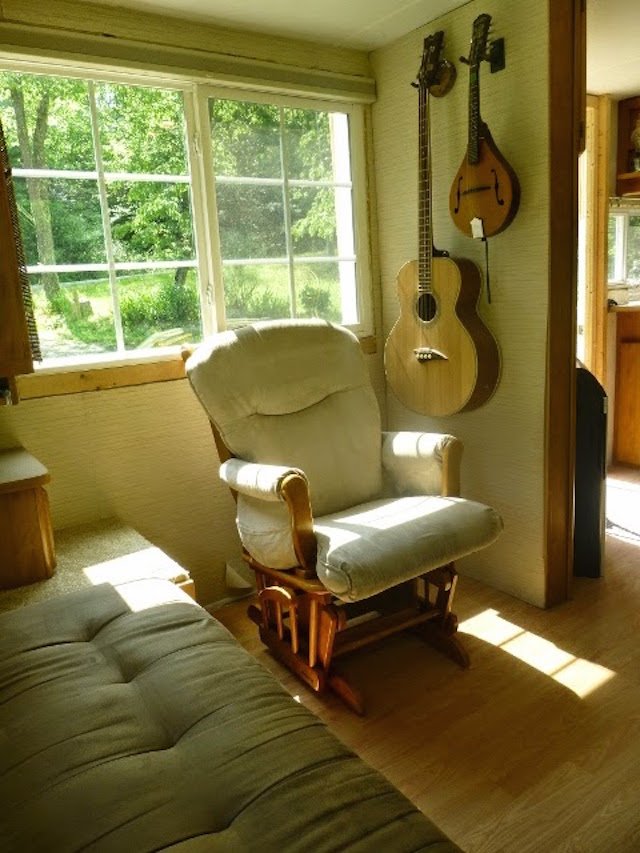 Living space in Fleetwood tiny house