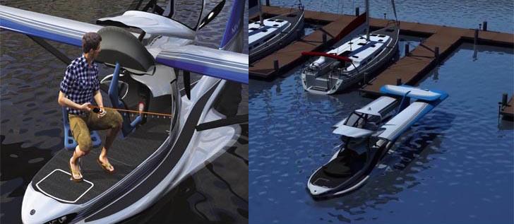 MVP Aero Model 3 on water