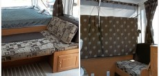 New cushions and curtains