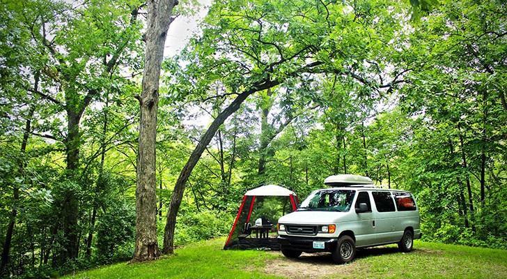 Project VanLife Book: Adventurous Couple Lived In Ford Econoline And Chased Mountain Bike Races