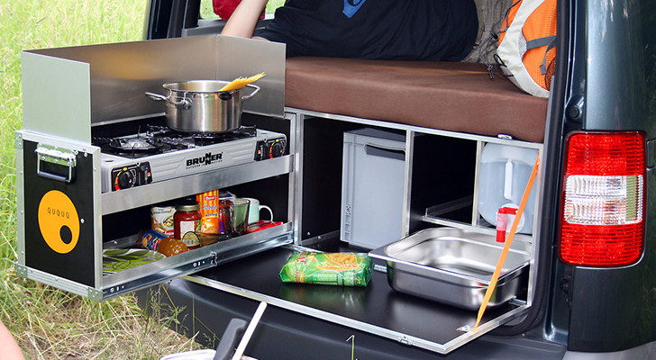 5 Ingenious European Camper In A Box Designs Transform A Basic Van into a Micro Camper