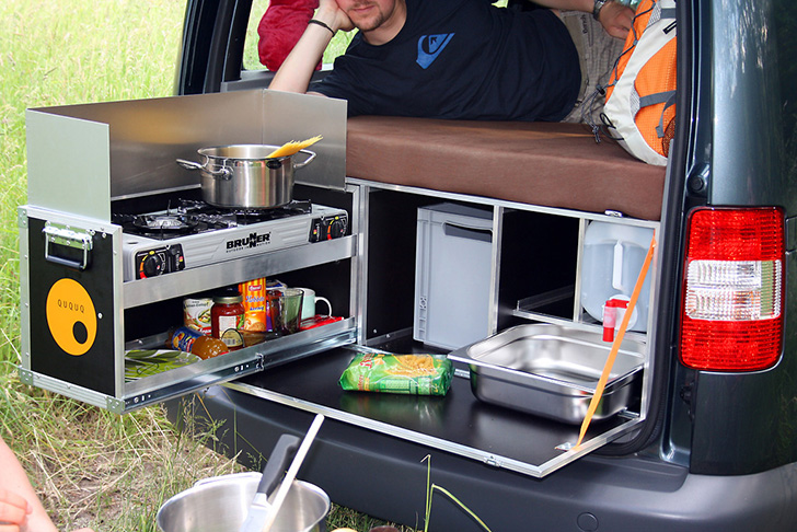 QuQuQ CamperBox KitchenBed