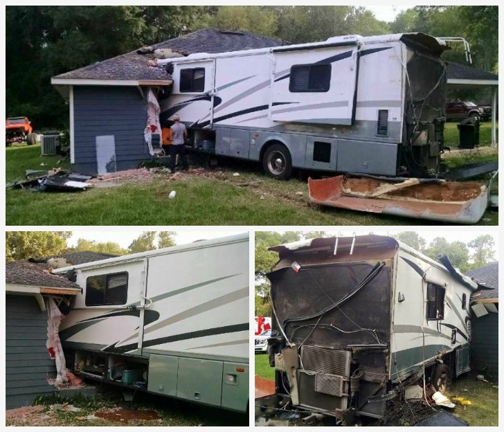 RV into home