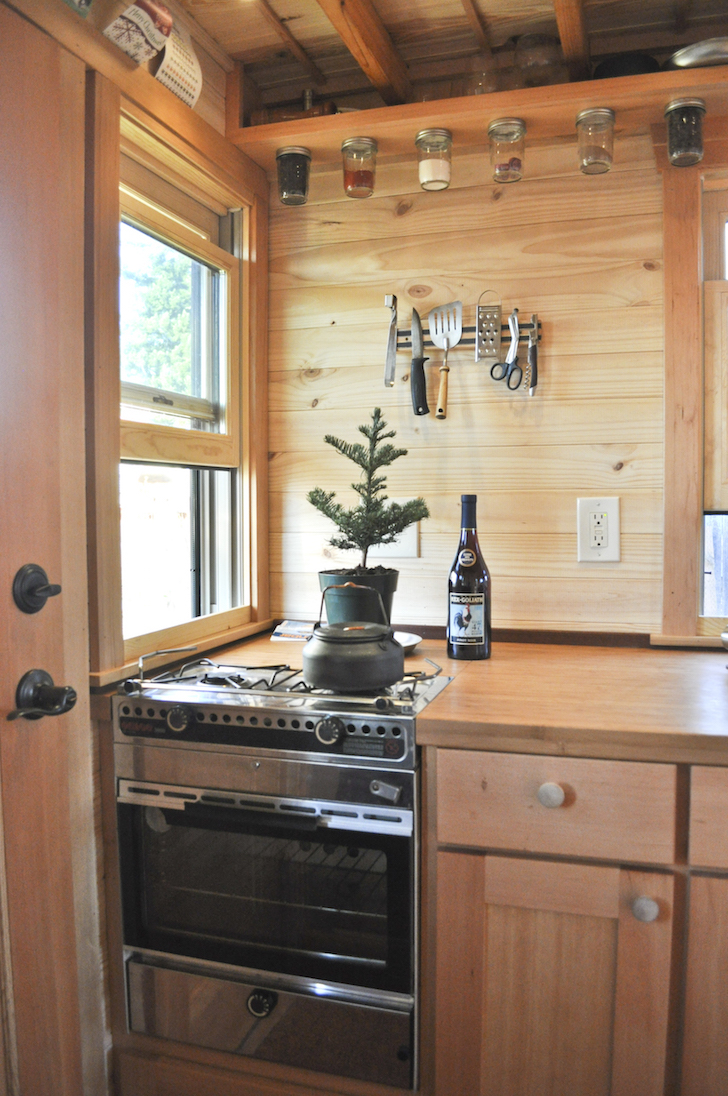 Small kitchen in tiny house