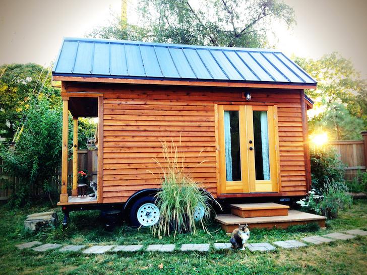 Tammy Strobel tiny home