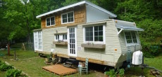 Travel trailer tiny house