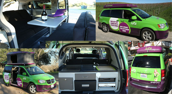 This Campervan By Jucy Makes Renting A Small Rv Easy