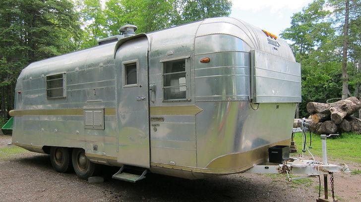 1965 24 Foot Streamline Duke Camper Trailer