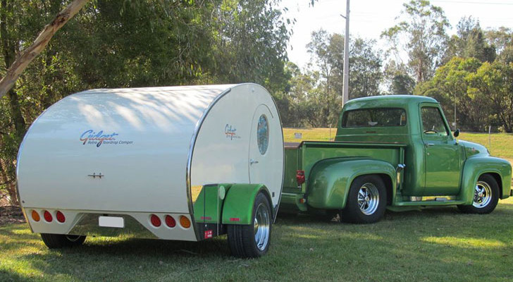 classic style trailer
