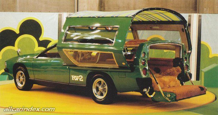 Super Groovy 1972 Toyota RV2 Was The RV Of The Future
