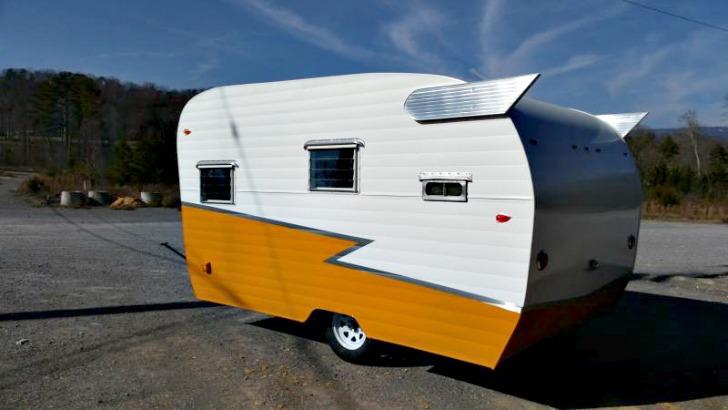 Vintage Inspired Newly Built Camper