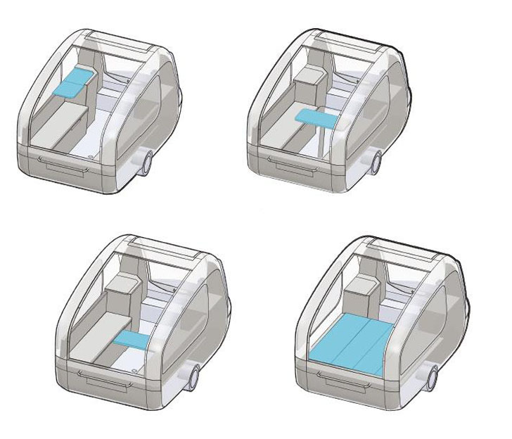 fully configurable interior